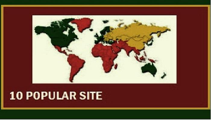 situs populer paling sering dikunjungi