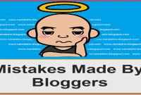 kesalahan blogger