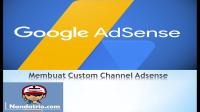 membbuat custom channel adsense