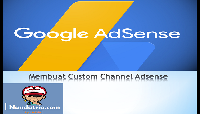 membbuat custom channel adsense