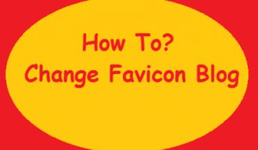 mengubah favicon blog
