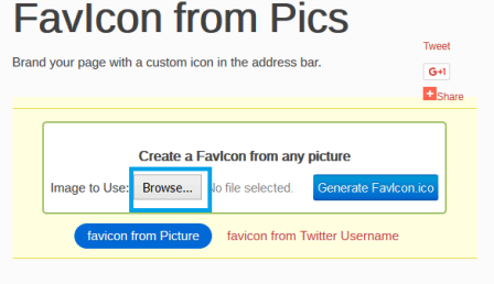 membuat favicon blog