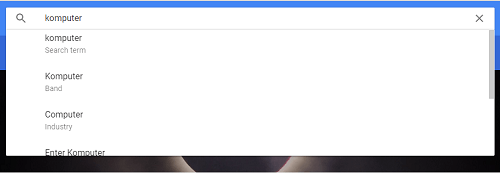 pencarian google trends