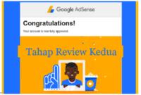mempercepat review kedua google adsense