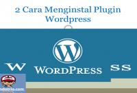 menginstal plugin wordpress