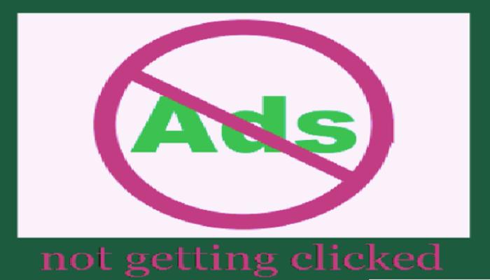 Iklan Adsense Tidak Mendapat klik
