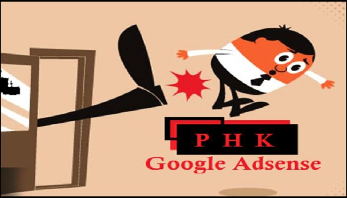 Akun google adsense dinonaktifkan