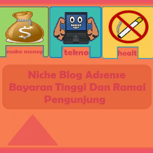 Niche Blog Adsese Bayaran Tinggi