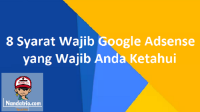 Syarat Wajib Google Adsense