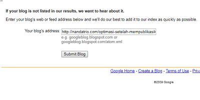 ping ke google