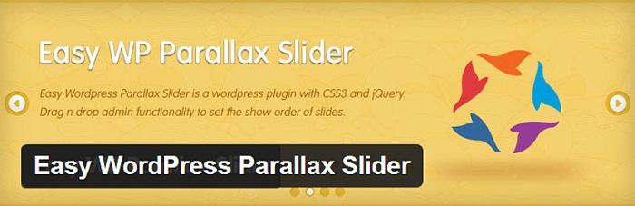easy parallax slider