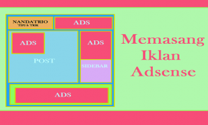 Memasang Iklan Adsense