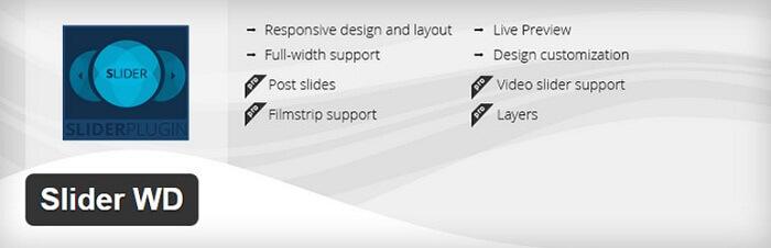 Plugin Sider WD WordPress