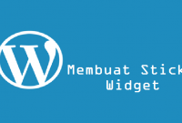Membuat Sticky Widget di WordPress Responsive