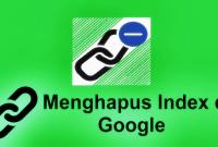 menghapus index di google