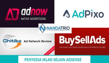 Penyedia Iklan Selain Adsense