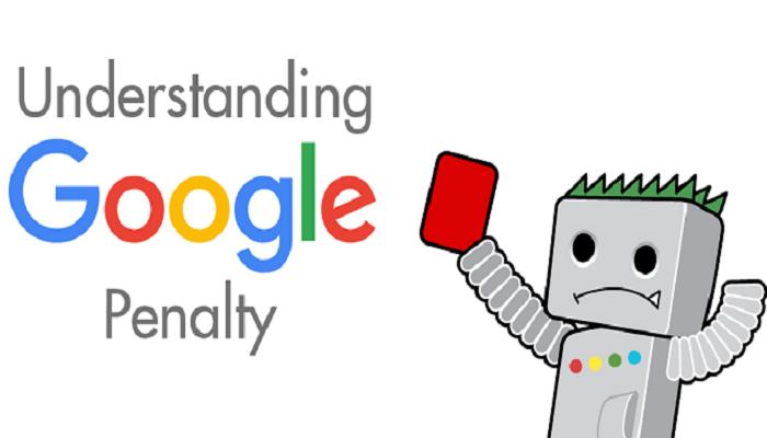 Penalti dari pihak Google